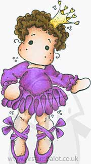 OT13 Magnolia - Princess Tilda with Ballet shoes