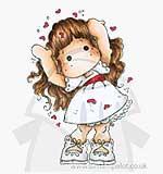 SO: SM13 Magnolia - Love Love Love Tilda