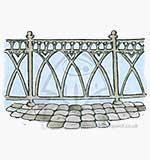 SM13 Magnolia - Royal Wedding Fence