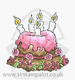 SM13 Magnolia - Little Rose Cake
