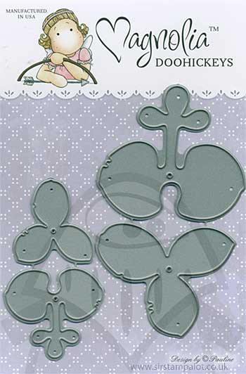 SM13 Magnolia DooHickey Cutting Dies - Orchids [DH1097]