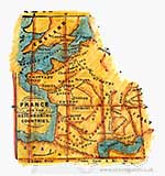 SB13 Magnolia EZ Mount - Ocean Map [Y0211J]