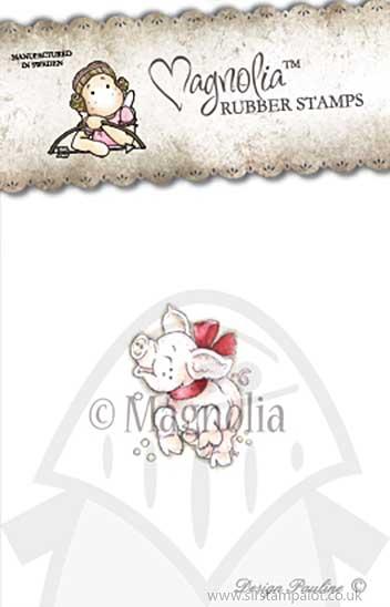 WW13 Magnolia EZ Mount - A Joyful Piglet [Y0171H]
