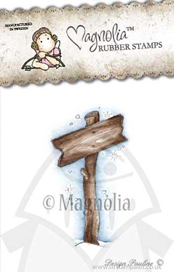 WW13 Magnolia EZ Mount - Show The Way Sign [Y0196J]