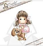 Magnolia EZ Mount AY14 - Tilda with Chanel the Puppy [Y0264L]