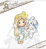 Magnolia EZ Mount AY14 - Tilda with Inez the Bunny [Y0269L]