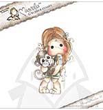 SO: Magnolia EZ Mount AY14 - Tilda with Maggie the Monkey [Y0271]
