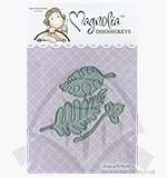 SO: Magnolia DooHickeys Cutting Die AY14 - Jungle Leaves