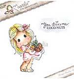 LD15 Magnolia EZ Mount - Coco-Nuts Tilda Duo