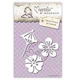 Magnolia Doohickey Cutting Die Bon Voyage Doily Flowers 1005