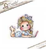 Magnolia EZ Mount Stamp WWW15 - Follow Me Tilda