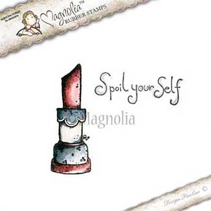Magnolia EZ Mount Stamp WWW15 - Spoil Yourself Kit (2 stamps)