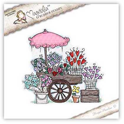 Magnolia EZ Mount Stamp SA15 - Flowers For Sale