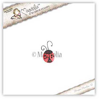 Magnolia Shadow Stamp - Little Sunshine - Ladybug