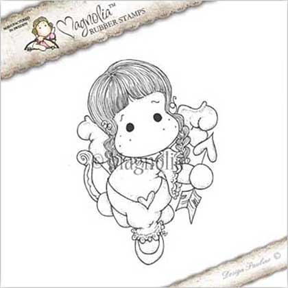Magnolia EZ Mount Stamp ATL16 - Cupid Angel Tilda