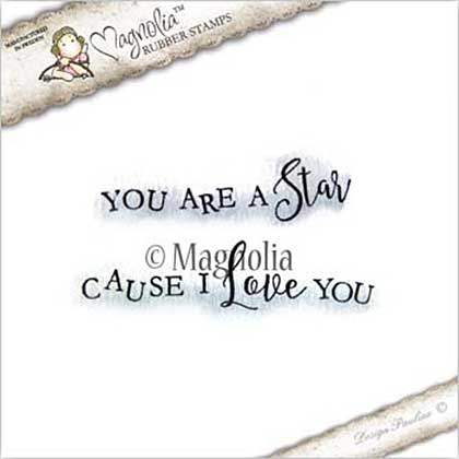 Magnolia EZ Mount Stamp LE17 - Cause You Are A Star Kit