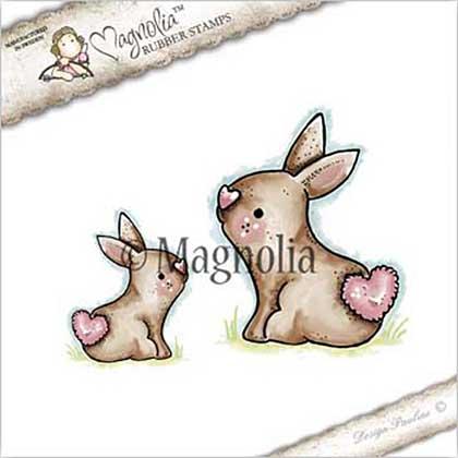Magnolia EZ Mount Stamp ST17 - Sweet Rabbits
