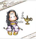 Magnolia EZ Mount Stamp BU17 - Aladdin Tilda with Lamp
