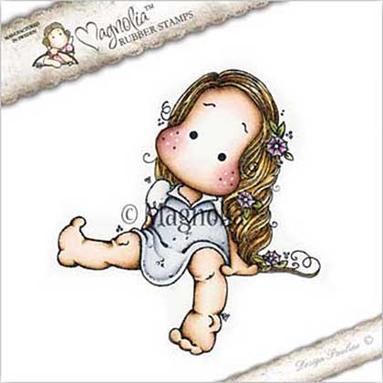 SO: Magnolia EZ Mount Stamp BU17 - Flower Girl Tilda