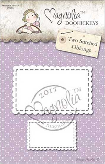 Magnolia Doohickey - BC17 Two Stitched Oblongs