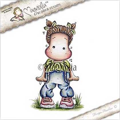 Magnolia EZ Mount Stamp YB17 - Sweet Pants Tilda