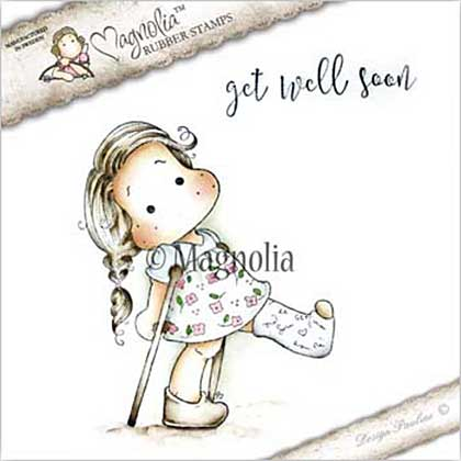 Magnolia EZ Mount Stamp - GW17 Tilda With Broken Leg