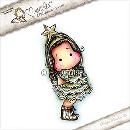 SO: Magnolia EZ Mount Stamp CP17 - Tilda with Star