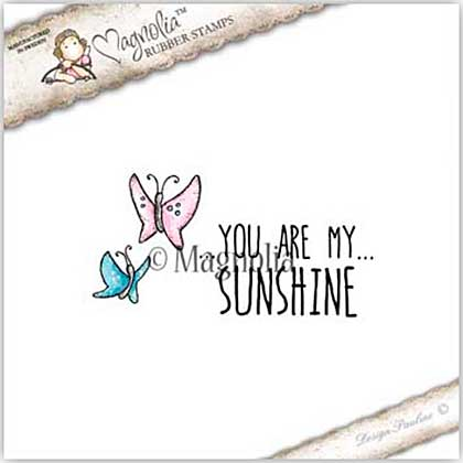 Magnolia EZ Mount Stamp SC18 - Sunshine Kit