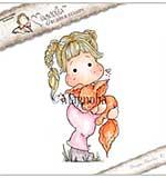 SO: Magnolia EZ Mount Stamp SC18 - Tilda With Foxy