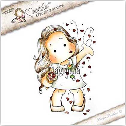 SO: Magnolia EZ Mount Stamp YI18 - Tilda Throws Away Hearts