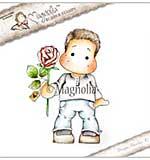 Magnolia EZ Mount Stamp YI18 - Edwin