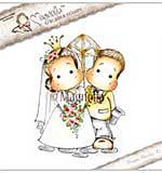 Magnolia EZ Mount Stamp YI18 - Mrs And Mr Magnolia