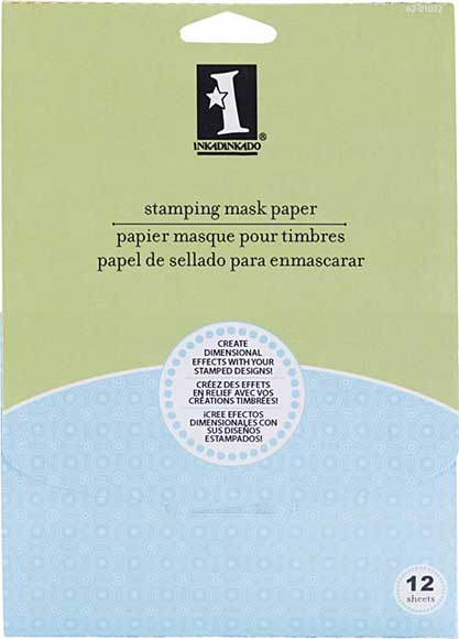 SO: Inkadinkado Stamping Mask Paper 12pk