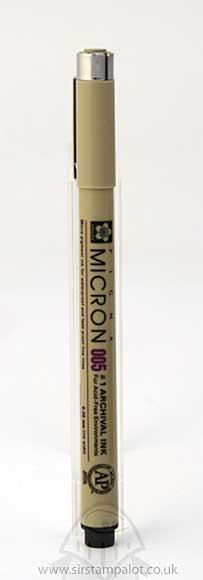 Pigma Micron - Archival Ink Pen - Black (0.20mm)