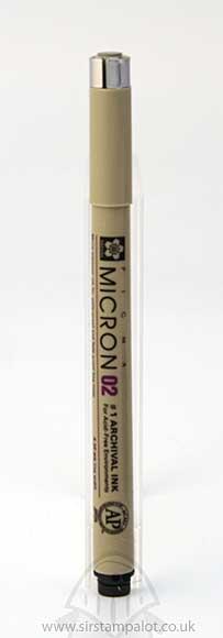 SO: Pigma Micron - Archival Ink Pen - Black (0.30mm)
