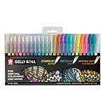 Sakura Gelly Roll Mixed Set of 24 Stardust, Metallic andMoonlight
