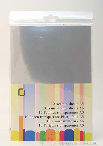 SO: A5 Acetate Sheets (10 pcs)