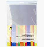 Jeje A4 Acetate Sheets (5 pcs)