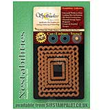 SO: Spellbinders Nestabilities - Rectangles Classic Scallop - Small