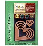 SO: Spellbinders Nestabilities - Heart Classic