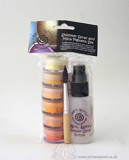 Cosmic Shimmer Spray and Mica Pigment Set - Morning Sunlight