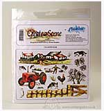 Create-a-Scene - Unmounted Stamp Set - Countryside
