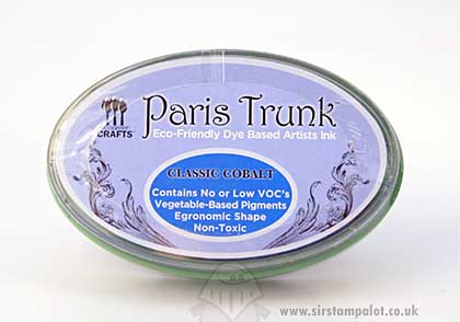 SO: Eco-Friend - Paris Trunk Dye Based InkPad - Classic Cobalt