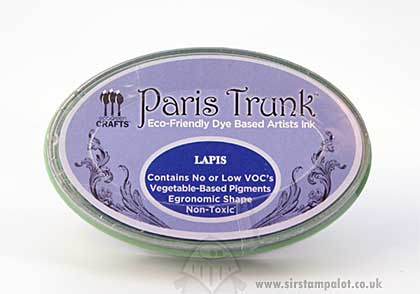 SO: Eco-Friend - Paris Trunk Dye Based InkPad - Lapis