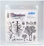 SO: Unmounted Stamp set - Trees