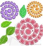Spellbinders - Shapeabilities - Bitty Blossoms