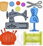Spellbinders - Shapeabilities - Sewing Elements