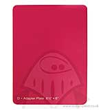 "SO: Grand Calibur Raspberry Junior Spacer Plate - 8.5"" x 6"""
