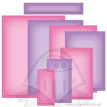 Spellbinders Nestabilities Card Creator - A2 Matting Basics A