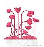 SO: Spellbinders Shapeabilities D-Lites Die - Poppy Patch